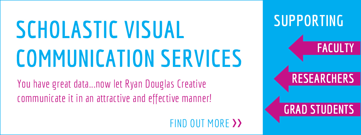 You have great data...now let Ryan Douglas Creative communicate it in an attractive and effective manner!